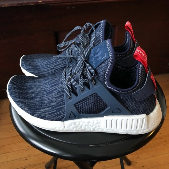 separation shoes d13cb 4c4f8 Adidas Sneakers NMD XR1 - Glitch Unity Blue